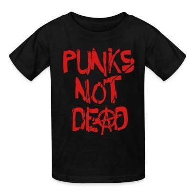 Kid tshirt Punk's not dead