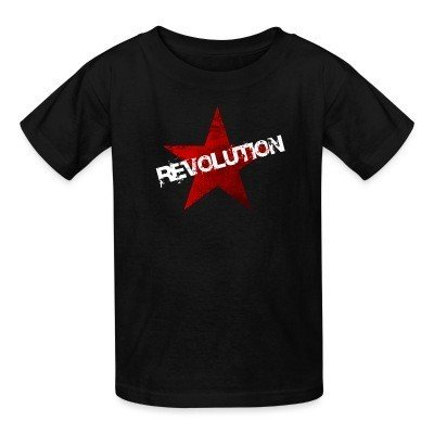 Kid tshirt Revolution
