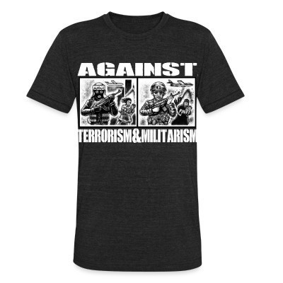 Local T-shirt Against terrorism & militarism