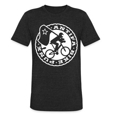 Local T-shirt Antifa bike punx