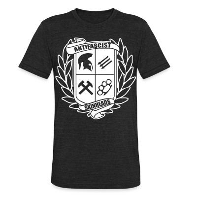 Local T-shirt Antifascist skinheads