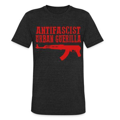 Local T-shirt Antifascist urban guerilla