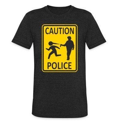 Local T-shirt Caution police