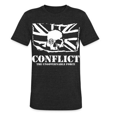 Local T-shirt Conflict - The ungovernable force