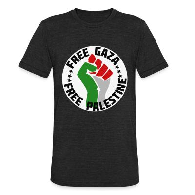 Local T-shirt Free gaza - Free palestine