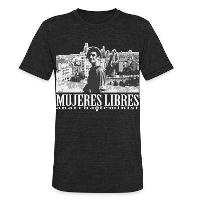 Local T-shirt Mujeres libres anarcha-feminist