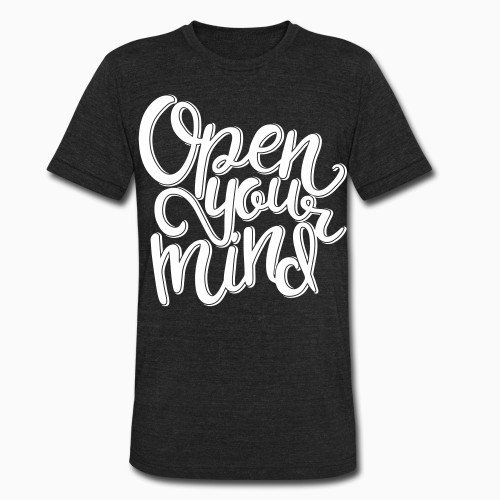 Local T-shirt Open your mind