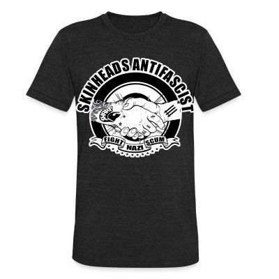 Local T-shirt Skinheads antifascist - fight nazi scum