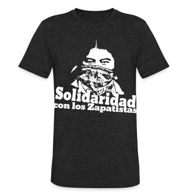 Local T-shirt Solidaridad con los Zapatistas