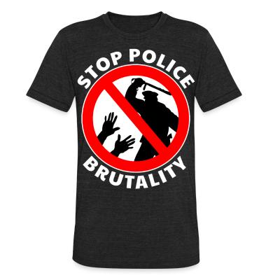Local T-shirt Stop police brutality