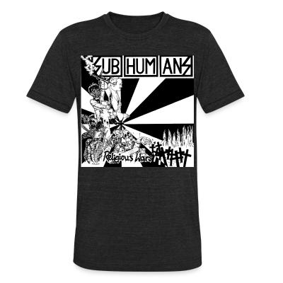 Local T-shirt Subhumans - Religious wars