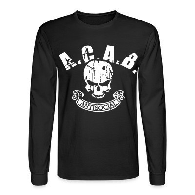 Long sleeves A.C.A.B. antisocial