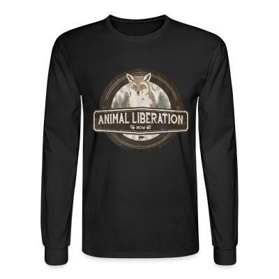 Long sleeves Animal liberation now
