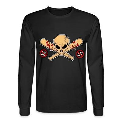 Long sleeves Anti-Nazi baseball