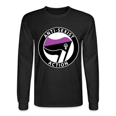 Long sleeves Anti-sexist action