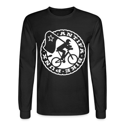 Long sleeves Antifa bike punx