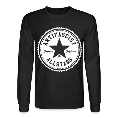 Long sleeves Antifascist allstars - freedom fighters