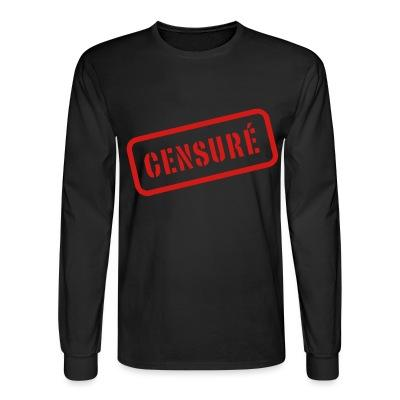 Long sleeves Censuré
