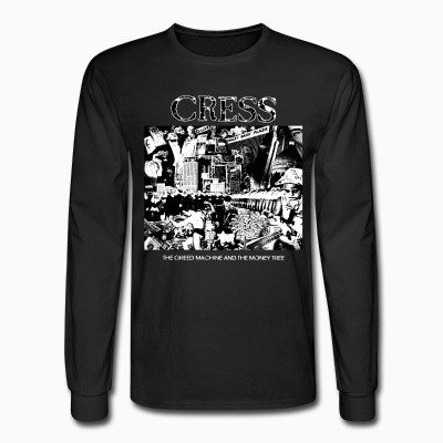 Long sleeves Cress - the greed machine and the money tree