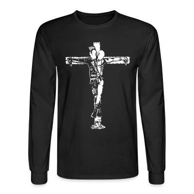 Long sleeves Crucified punk & skin