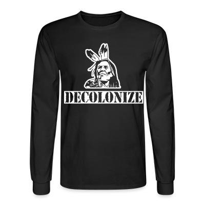 Long sleeves Decolonize