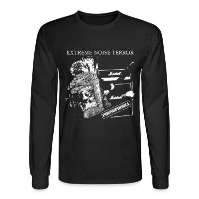 Long sleeves Extreme Noise Terror - phonophobia