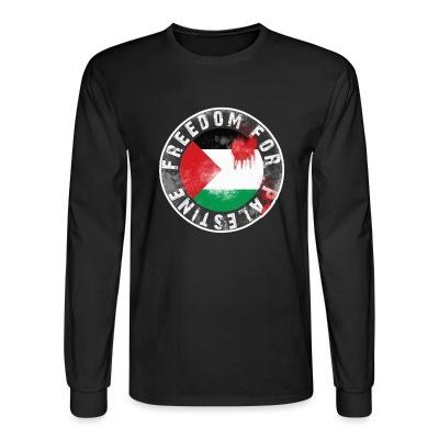 Long sleeves Freedom for palestine