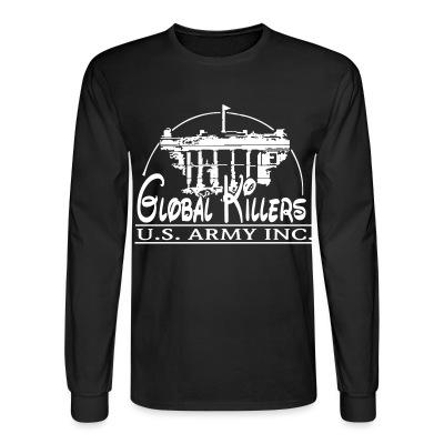 Long sleeves Global Killers - U.S. Army Inc.