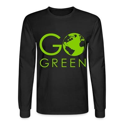 Long sleeves Go green