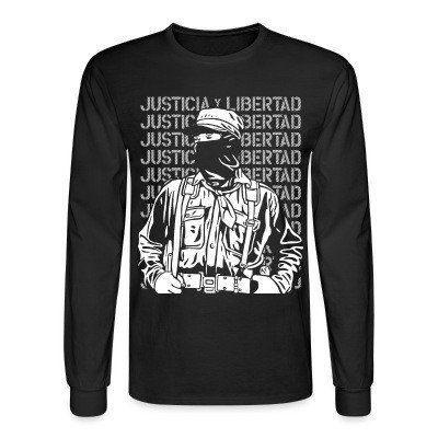 Long sleeves Justicia y libertad