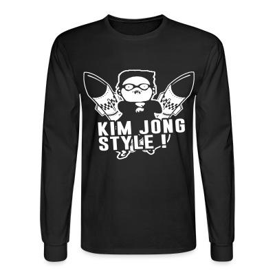 Long sleeves Kim jong style!