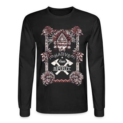 Long sleeves Native free spirit