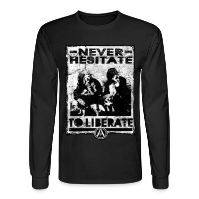 Long sleeves Never hesitate to liberate