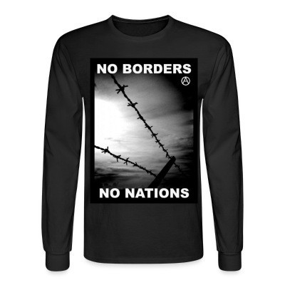 Long sleeves No borders no nations
