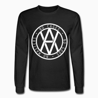 Long sleeves No cages - no gods - no masters
