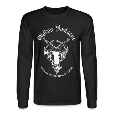 Long sleeves Outlaw Bastards - Tijuana motorcharged crust
