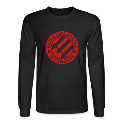 Long sleeves Red & anarchist skinheads