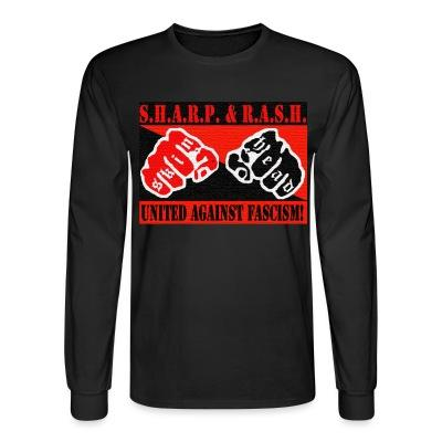 Long sleeves SHARP & RASH united against fascism!