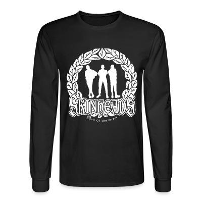 Long sleeves Skinheads spirit of the street