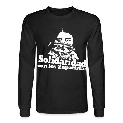 Long sleeves Solidaridad con los Zapatistas