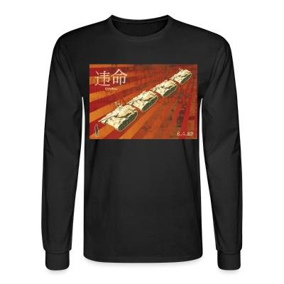 Long sleeves Tiananmen Square Massacre 06.04.89