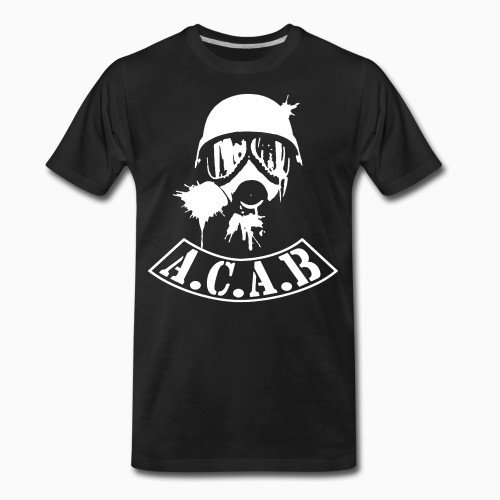Organic T-shirt A.C.A.B. All Cops Are Bastards