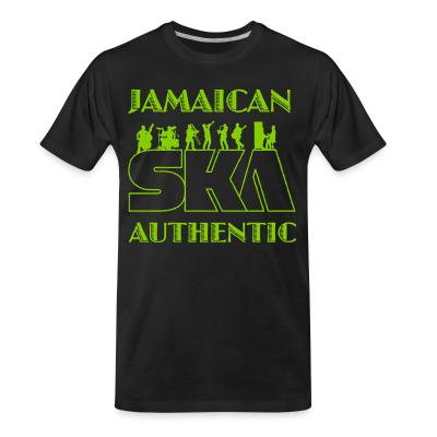 Organic T-shirt Jamaican ska authentic
