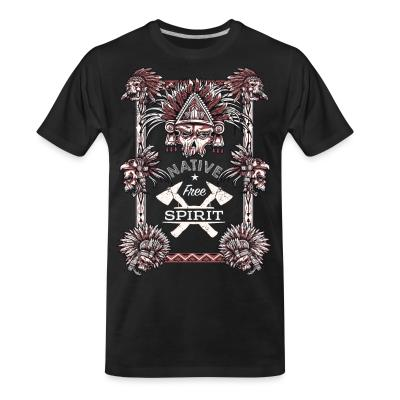 Organic T-shirt Native free spirit