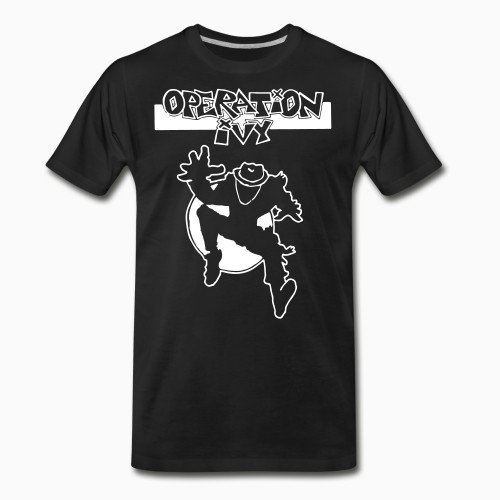 Organic T-shirt Operation Ivy - Energy