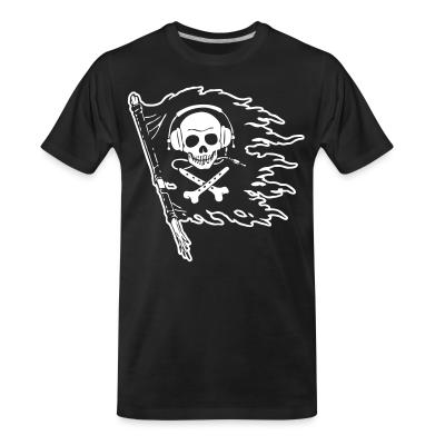 Organic T-shirt Pirate