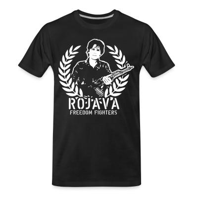 Organic T-shirt Rojava freedom fighters