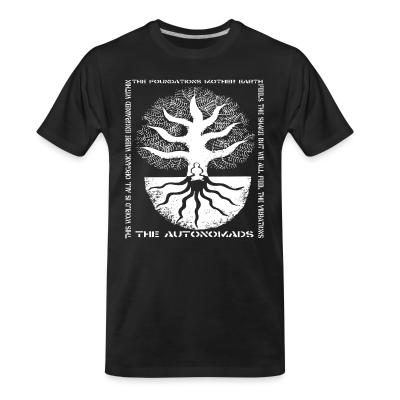Organic T-shirt The Autonomads - The foundations mother earth