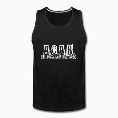 Tank top A.C.A.B. All Cops Are Bastards
