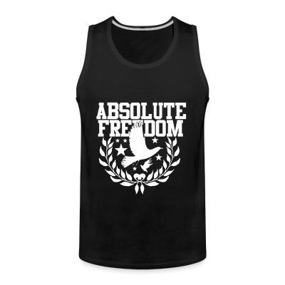Tank top Absolute freedom